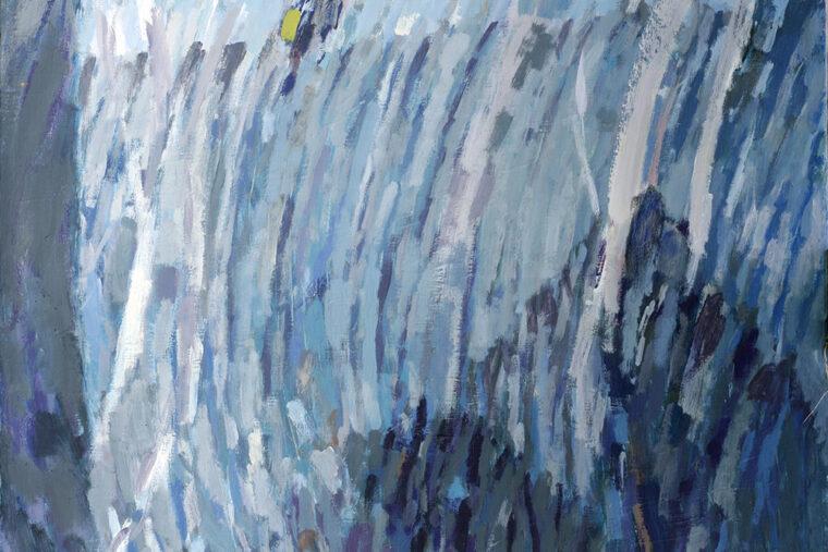 Memuar IVI, akryl, 111x86 cm, 2018